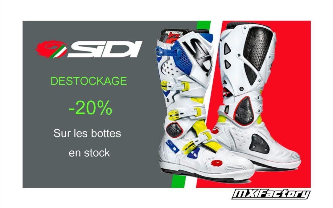 DESTOCKAGE SIDI -20%